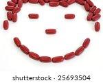 Happy Vitamins - stock photo