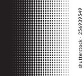 halftone dots pattern gradient... | Shutterstock .eps vector #256939549