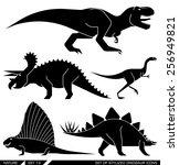Постер, плакат: rex trex tyrannosaurus triceratops