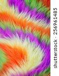 Faux Artificial Colorful Fur ...