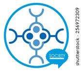 society vector illustration | Shutterstock .eps vector #256972309