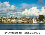 view of balboa island  and... | Shutterstock . vector #256982479