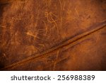Постер, плакат: Worn Old Brown Leather