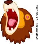 Roaring Lion Cartoon