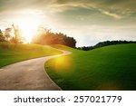 Panoramic View Of Nice Green...