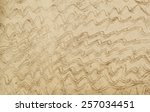 the pattern on the concrete... | Shutterstock . vector #257034451