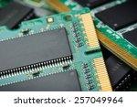 closeup details of computer...   Shutterstock . vector #257049964