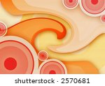 abstract vintage background... | Shutterstock . vector #2570681