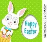 Easter Bunny. Vector. Happy...