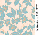Vector Floral Texture Pattern...