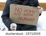 Homeless  Unemployed  Hungry