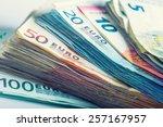 Several Hundred Euro  Banknotes ...