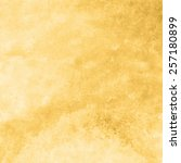 yellow gold watercolor texture... | Shutterstock . vector #257180899