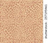 Seamless Giraffe Print Pattern