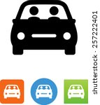 carpool   two people riding in...   Shutterstock .eps vector #257222401