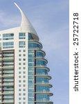 modern office building on a... | Shutterstock . vector #25722718
