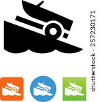 boat ramp icon