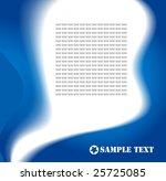 vector abstract design | Shutterstock .eps vector #25725085