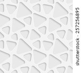 seamless triangle pattern.... | Shutterstock .eps vector #257256895