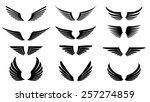 wings | Shutterstock .eps vector #257274859