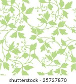 seamless vine design   Shutterstock .eps vector #25727870