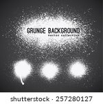 set of  ink vector stains | Shutterstock .eps vector #257280127