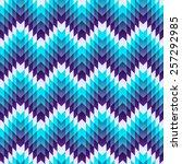 aztec seamless pattern. vector  | Shutterstock .eps vector #257292985