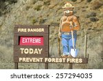 Smokey The Bear Warns Of Fores...