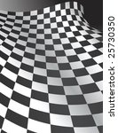 Abstract Checker Board Curve  ...