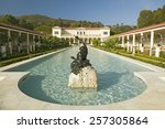 Colonnade And Long Pool Of The...