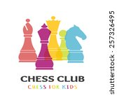 Постер, плакат: Chess pieces business sign