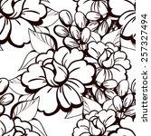 abstract elegance seamless... | Shutterstock .eps vector #257327494