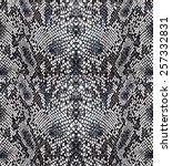 seamless snake python textile... | Shutterstock .eps vector #257332831