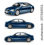 contemporary shiny luxury... | Shutterstock . vector #257333521