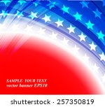 abstract image of the american... | Shutterstock .eps vector #257350819