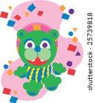 dancing bear   Shutterstock .eps vector #25739818