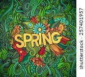 Spring Hand Lettering And...