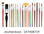 collection of new professional... | Shutterstock . vector #257408719