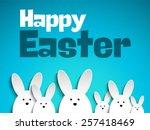 Vector   Happy Easter Rabbit...