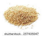 Heap Of Amaranth Seeds Isolate...
