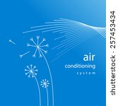 air conditioner   conditioning ...   Shutterstock .eps vector #257453434