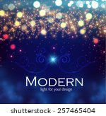 Shining Blur Bokeh Background...