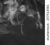 smoke background  | Shutterstock . vector #257513581