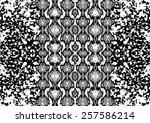 snake skin pattern with...