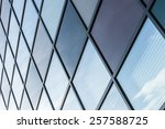 geometric architectural lines... | Shutterstock . vector #257588725