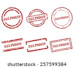 selfmade stamps | Shutterstock .eps vector #257599384