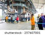 hong kong   february 07   cable ... | Shutterstock . vector #257607001