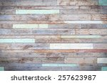 vintage wooden wall background | Shutterstock . vector #257623987