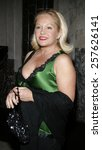 Small photo of November 28, 2005. Charlene Tilton attends the Red carpet celebrity opening of stage musical version of Irving Berlin White Christmas at the Pantages Theatre in Hollywood, California United States.