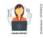 24 7 Customer Service. Online...